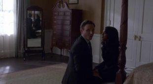 Kerry Washington y Scott Foley no pueden contener sus risas en las tomas falsas de 'Scandal'