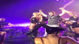 Britney Spears sorprende a los espectadores bailando con Colton Haynes sin saber quién es