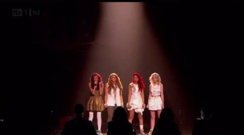 "Little Mix emocionan con su versión de ""Cannonball"" y ganan ""The X Factor"""