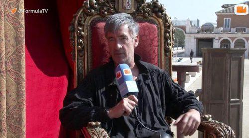 """Francis Lorenzo: """"He pedido que para el final definitivo de 'Águila Roja' maten al Comisario"""""""