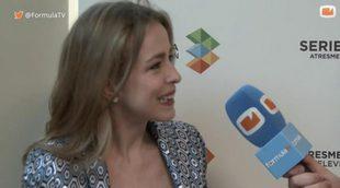 """Silvia Abascal: """"Regresar a la televisión con 'La Catedral del Mar' supone volver con una gran producción"""""""