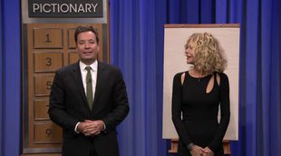Meg Ryan y Jimmy Fallon juegan a un alocado Pictionary