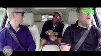 Tim Cook, CEO de Apple, canta junto a James Corden y Pharrel Williams en 'Carpool Karaoke'
