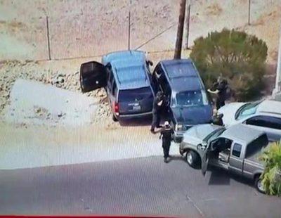La Fox emite en directo la muerte de un sospechoso tras un disparo en la cabeza de la policia