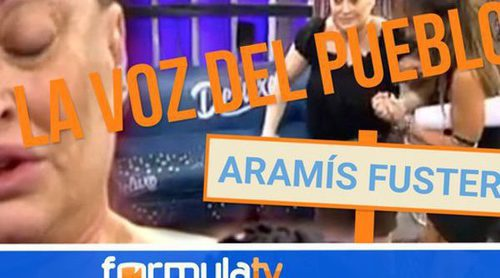 El pueblo opina sobre Aramís Fuster y sus apariciones en 'Sálvame': ¿Ha sobrepasado los límites?