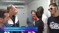 Toño Sanchís y Generación Canalla incomodan a una reportera de La 8 Valladolid