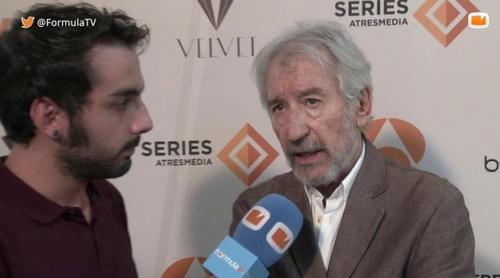 """José Sacristán: """"Si la respuesta del público es positiva, podría haber una continuación de 'Velvet'"""""""
