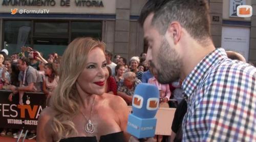 """Así ha sido la asombrosa acogida de Ana Obregón: """"He tardado hora y media en recorrer la alfombra roja"""""""