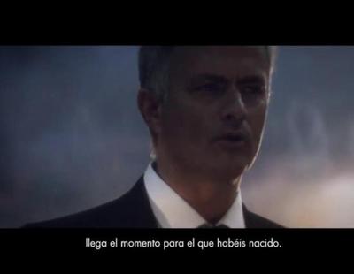 Mourinho protagoniza un emotivo spot de la Champions