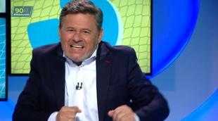"""Miki Nadal versiona la canción """"Chas y aparezco a tu lado"""" con el Alavés como protagonista en '90 minuti'"""