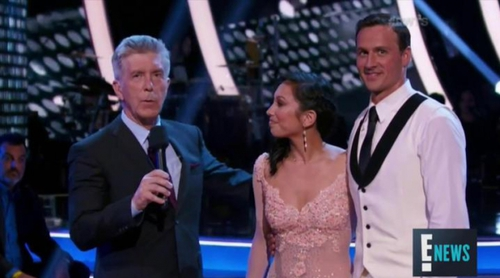 Atacan a Ryan Lochte en directo en 'Dancing with the stars'