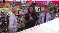 """Michelle Obama y Ellen DeGeneres la lían """"comprando"""" en un CVS"""