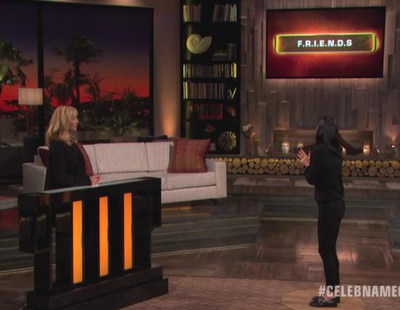 Lisa Kudrow y Courteney Cox arrasan con 'Friends' en 'Celebrity Name Game'