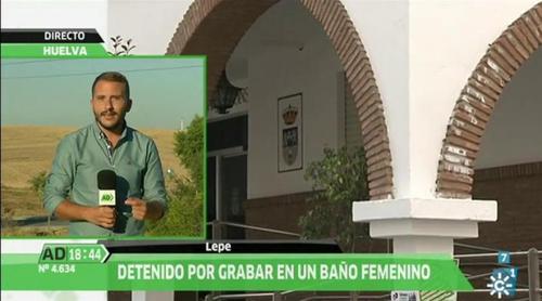 'Andalucía directo' se hace eco de la noticia de Lepe que bien podría haber protagonizado un clásico chiste