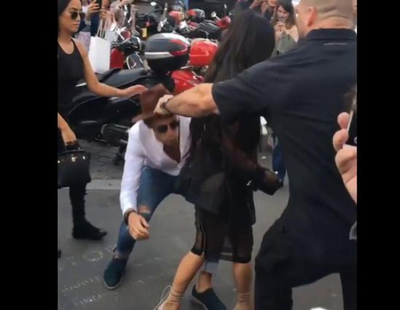 """Kim Kardashian y su trasero, víctimas del """"acosador de los famosos"""""""