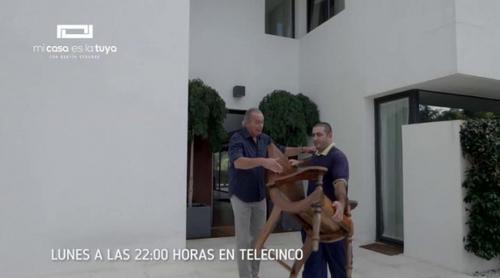 Bertín y Fabiola se mudan en 'Mi casa es la tuya'