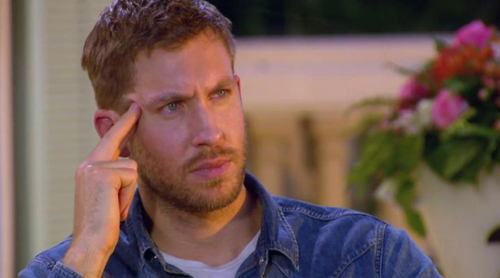 Calvin Harris, a punto de llorar en 'The X Factor' ¿recordando a Taylor Swift?