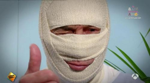 'El hormiguero': José Luis Perales se disfraza y le da una sorpresa a una fan hospitalizada