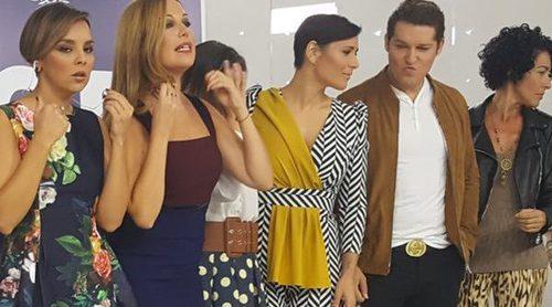 """'OT. El reencuentro': Los concursantes de 'OT 1' vuelven a cantar """"Mi música es tu voz"""" en la rueda de prensa"""