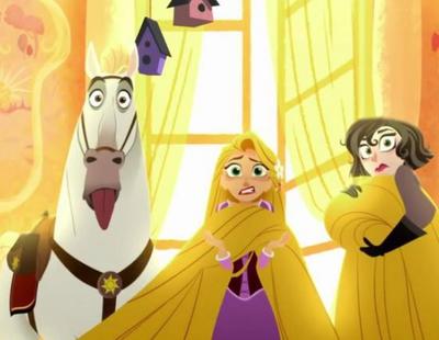 La serie de 'Enredados' desvela las primeras imágenes de Rapunzel y el regreso de su larga melena