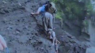 Un participante de 'La isla de Bear Grylls' cae a 9 metros de altura