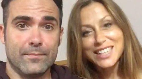 Naím Thomas y Verónica Romero mandan un saludo a Fórmula TV desde los ensayos de 'OT. El Reencuentro'