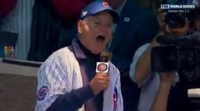 Bill Murray se entrega en su imitación del Pato Lucas en el World Series