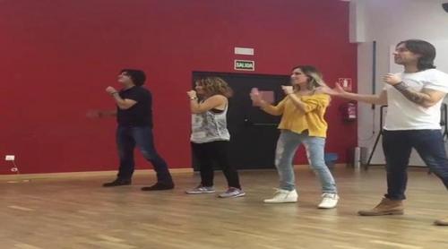 """Fórmula Abierta ensaya su famosa canción """"Te quiero más"""" antes del concierto de 'OT. El Reencuentro'"""