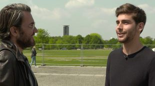Màxim Huerta viaja hasta Berlín en el final de temporada de 'Destinos de película' junto a Álvaro Soler