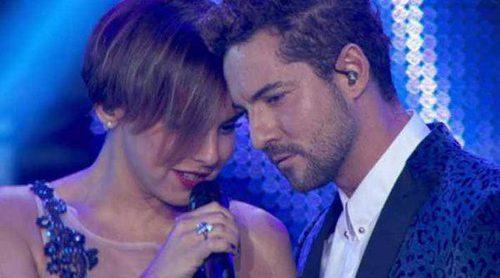 """'OT. El reencuentro': La emocionante actuación de Chenoa y Bisbal cantando """"Escondidos"""" en el concierto"""