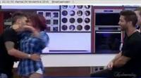 Bea y Rodrigo se besan delante de sus compañeros en 'Gran Hermano'