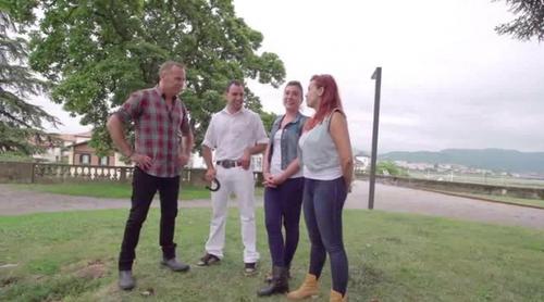 Lander es sorprendido por Cristina en la final de 'Granjero busca esposa'