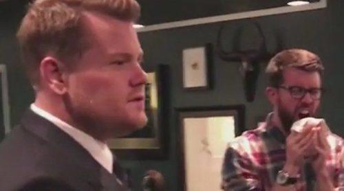 James Corden y todo el equipo de 'The Late Late Show' se convierten en maniquíes