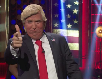 El doble de Donald Trump le roba el monólogo a Buenafuente en 'Late Motiv'