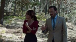 Cata y Damián de 'Olmos y Robles' encuentran algo inquietante en el bosque