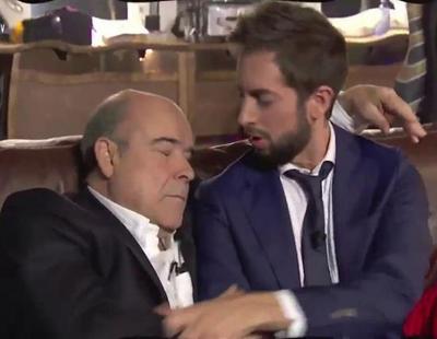 """Antonio Resines parodia el final de 'Los Serrano' despertándose de """"un sueño"""" en 'Late Motiv'"""