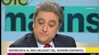 La reacción de Enric Millo al enterarse en directo de la muerte de Rita Barberá durante una entrevista en TV3