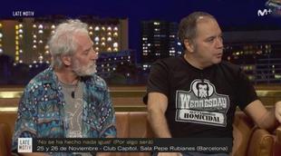 """'Late Motiv' con """"Los sabandeños del humor"""": Pepe Colubi y Pepín Tre"""