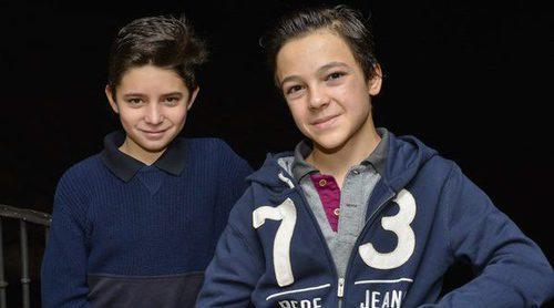 Así son Álvaro Villaespesa y Hugo Arbués, los niños protagonistas de 'La catedral del mar'
