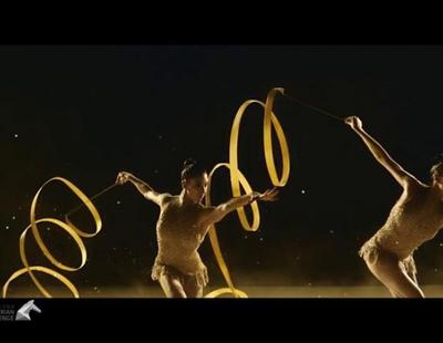 El anuncio navideño de Freixenet 2016 protagonizado por el equipo de gimnasia rítmica