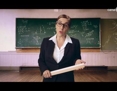 'Yo fui a EGB': Una estricta Anabel Alonso promociona el nuevo concurso de TNT