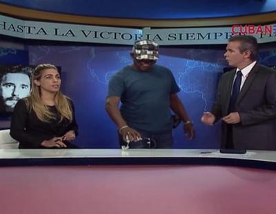 """Los presentadores de Cuba Televisión debaten cómo saludar a los espectadores sin decirles """"buenos días"""""""