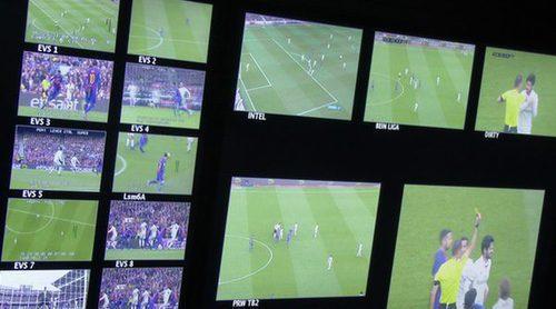 """Formulatv.com vive """"el Clásico"""" tras las cámaras: así es la realización del partido"""