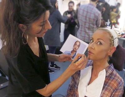 'Tu cara me suena': FormulaTV.com se cuela en la sala de caracterización y vestuario