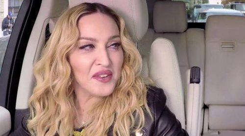 Madonna visita el Carpool Karaoke de James Corden