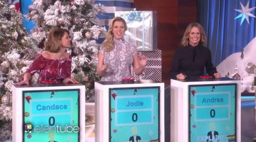 Las protagonistas de 'Madres Forzosas' juegan a adivinar los 'Emoji Exploji' en el programa de Ellen