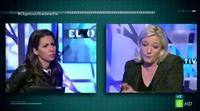 Marine Le Pen pregunta a Ana Pastor si ha acogido inmigrantes en su casa