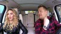 Madonna revoluciona el 'Carpool Karaoke' de James Corden con sus grandes hits