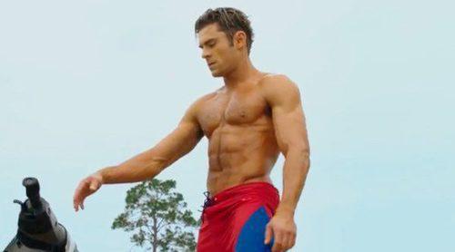 'Los vigilantes de la playa': El tráiler de la adaptación cinematográfica protagonizada por Zac Efron