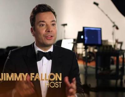Así se prepara Jimmy Fallon para los Globos de Oro de 2017
